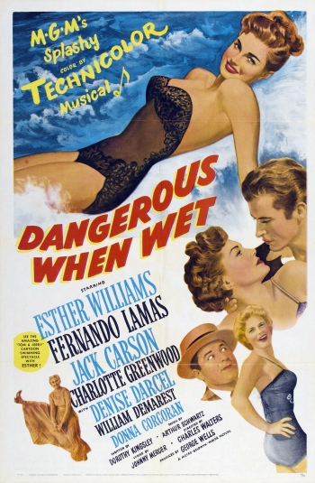 Poster - Dangerous When Wet_01