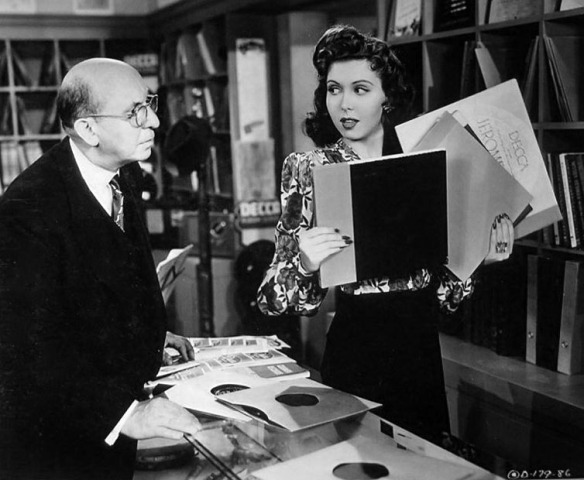 "Andrew Tombes and Ann Miller in ""Revellie with Beverly"""