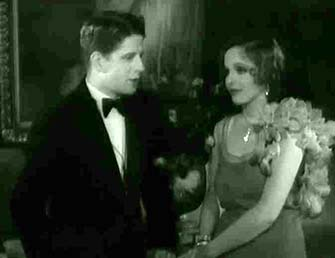 """Rudy Vallee and Sally Blane in """"Vagabond Lover"""""""