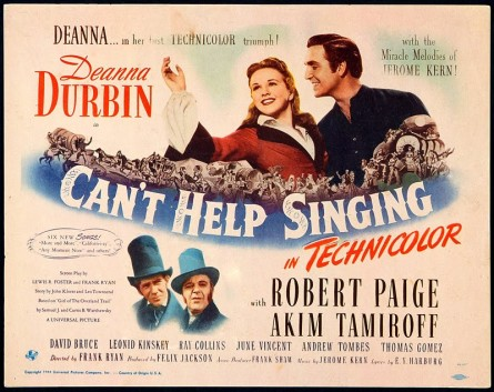 Image result for can't help singing 1944