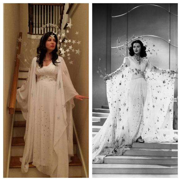 """My version of Hedy Lamarr's """"Dream"""" costume"""