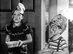 "Little Jerry Mathers on ""The Adventures of Ozzie and Harriet"""