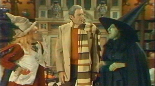 Billie Hayes and Margaret Hamilton with Paul Lynde