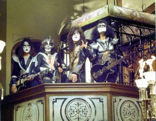 KISS performing in the Paul Lyde Special