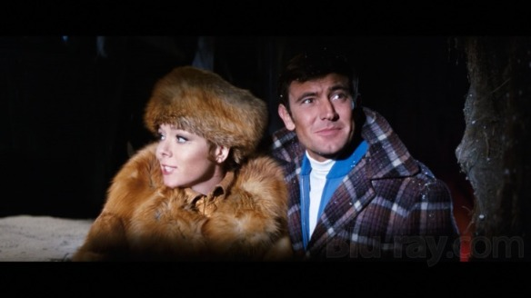 Diana Rigg and George Lazenby