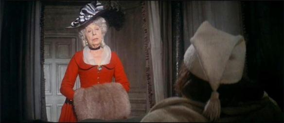 Edith Evans as the Ghost of Christmas Past