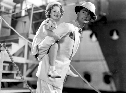 Shirley Temple with Robert Young