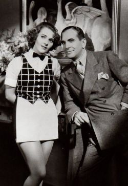 "Ruby Keeler and Al Jolson in ""Go Into Your Dance"" together. This was the first and only film they starred in together. The two were married from 1928 to 1939."