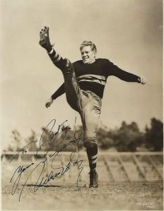 "Nelson Eddy as an All-American West Point football star in ""Rosalie"""