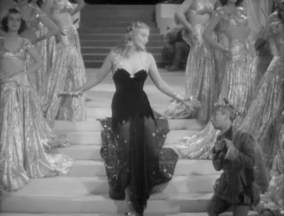 Ilona Massey in her first Hollywood film and her only musical performance in it.
