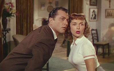 Tony Martin and Janet Leigh in Two Tickets to Broadway