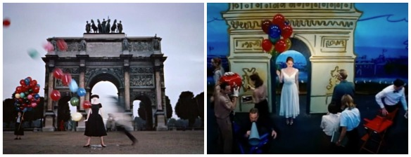 "An example of classic film vs. ""La La Land"" with ""Funny Face"" (1957)"