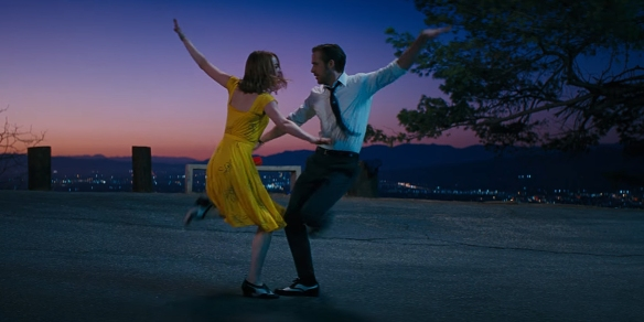 "Emma Stone and Ryan Gosling in ""La La Land"""