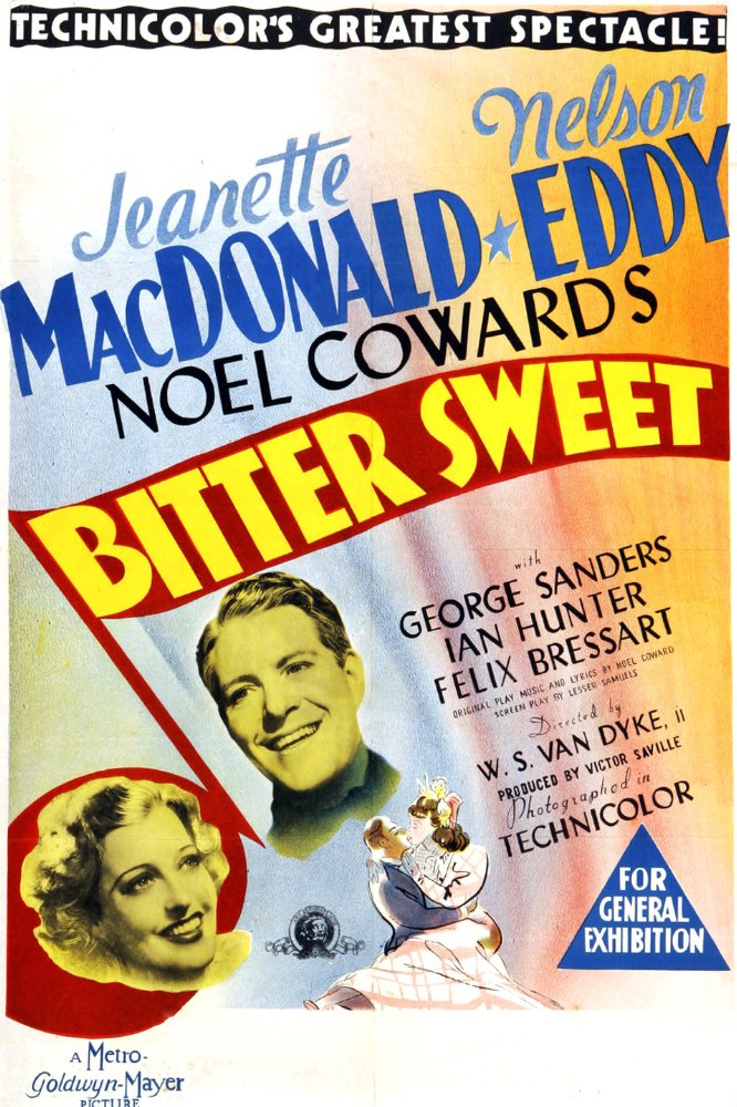 Musical Monday: Bitter Sweet (1940) | Comet Over Hollywood