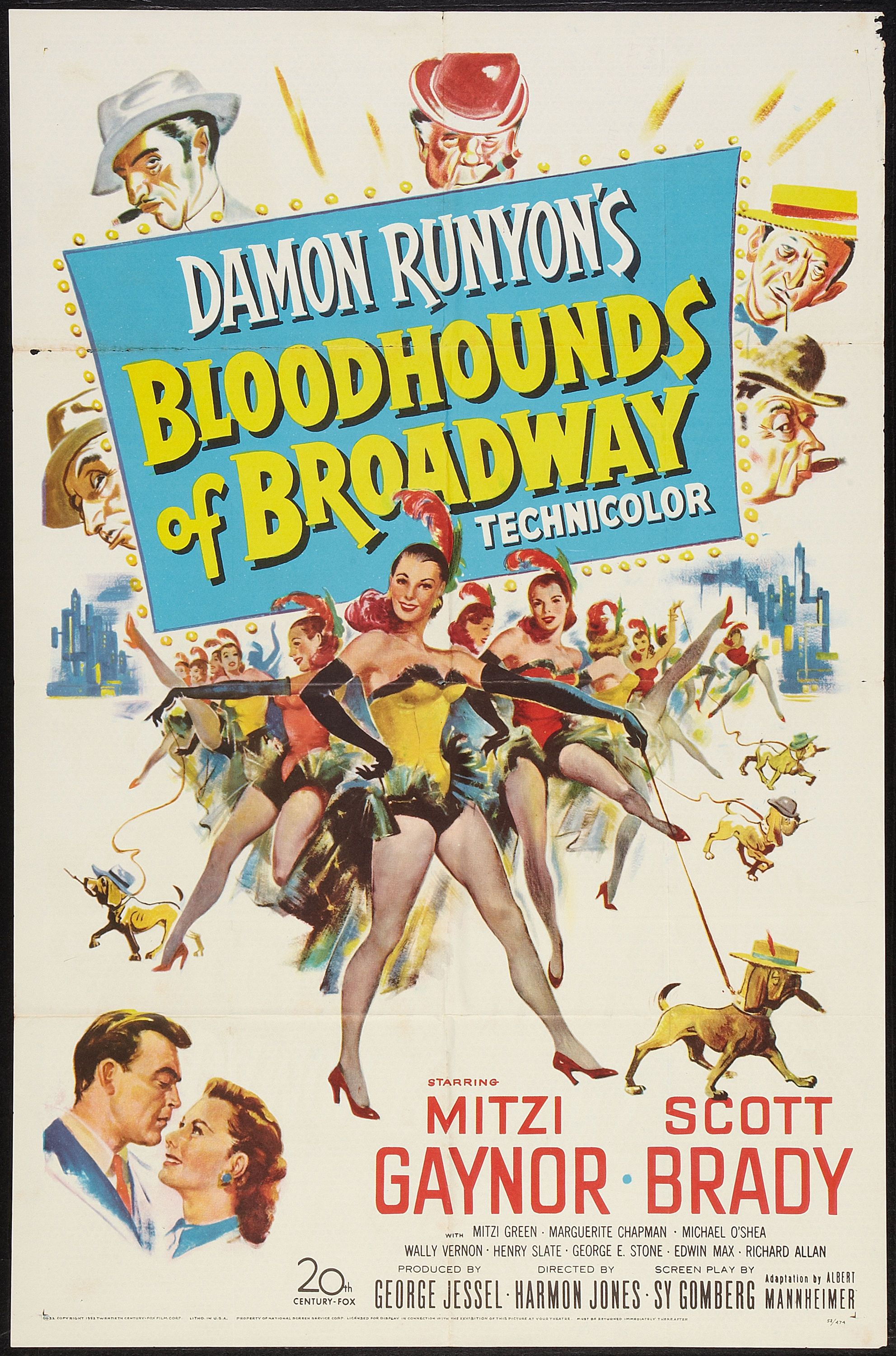 Musical Monday: Bloodhounds of Broadway (1952) | Comet Over Hollywood
