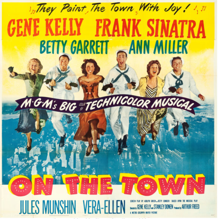 Musical Monday: On the Town (1949) | Comet Over Hollywood