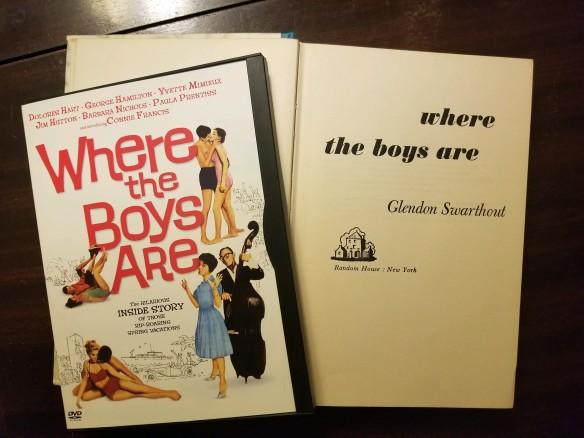 where the boys are dvd book